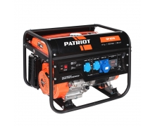 Бензогенератор 5,5кВт  Patriot 6510